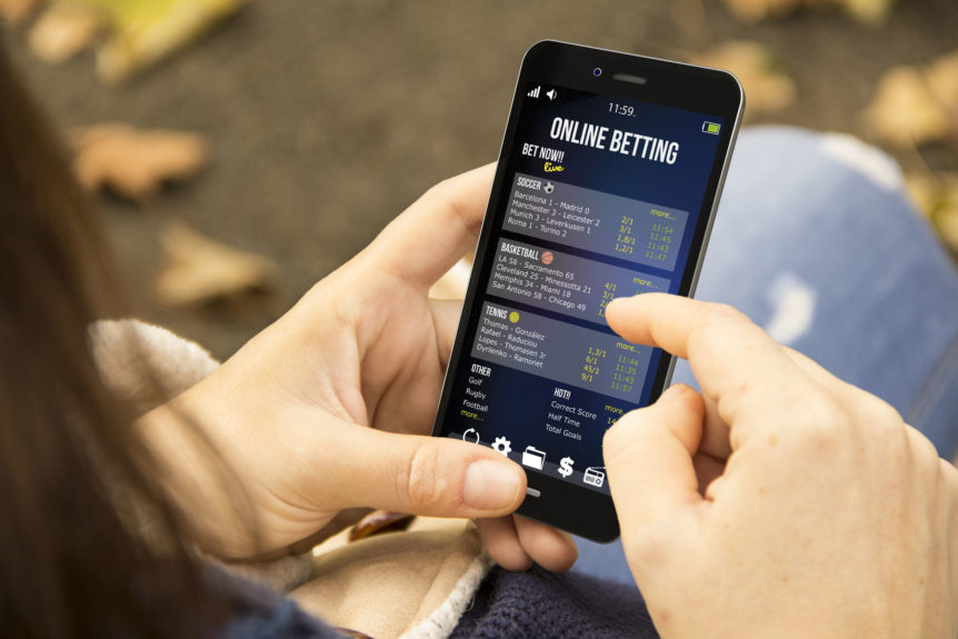 how does online betting works